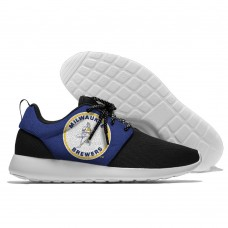 Men  Milwaukee Brewers Roshe style Lightweight Running shoes 3