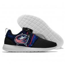 Men  NHL Columbus Blue Jackets Roshe style Lightweight Running shoes 6