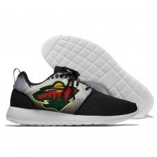Men  NHL Minnesota Wild Roshe style Lightweight Running shoes 6