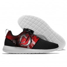Men  NHL New Jersey Devils Roshe style Lightweight Running shoes 3