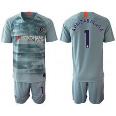 Men 2018-2019 club Chelsea FC away 1 blue Soccer Jerseys
