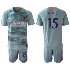 Men 2018-2019 club Chelsea FC away 15 blue Soccer Jerseys