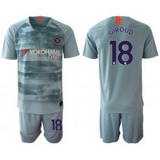 Men 2018-2019 club Chelsea FC away 18 blue Soccer Jerseys