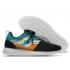 Men NFL Miami Dolphins Roshe style Lightweight Running shoes 2
