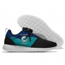 Men NFL Miami Dolphins Roshe style Lightweight Running shoes 5
