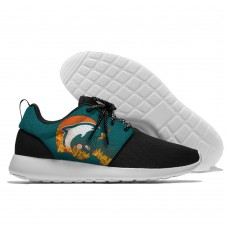 Men NFL Miami Dolphins Roshe style Lightweight Running shoes 7