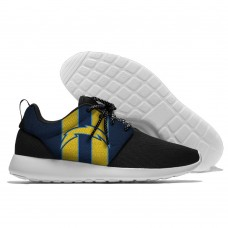 Men NFL San Diego Chargers Roshe style Lightweight Running shoes 1