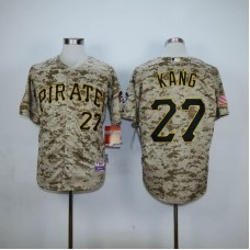 Men Pittsburgh Pirates 27 Kang Camo MLB Jerseys