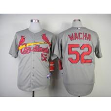 Men St. Louis Cardinals 52 Wacha Grey MLB Jerseys