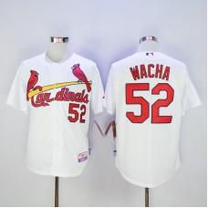 Men St. Louis Cardinals 52 Wacha White MLB Jerseys