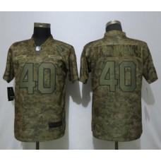 Women Arizona Cardinals 40 Tillman Nike Camo Salute to Service Limited NFL Jersey