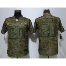 Women Jacksonville Jaguars 20 Ramsey Nike Camo Salute to Service Limited NFL Jersey