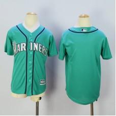 Youth Seattle Mariners Blank Green MLB Jerseys