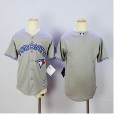 Youth Toronto Blue Jays Blank Grey MLB Jerseys