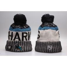 NHL San Jose Sharks Beanie hot hat1