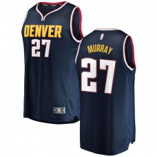 Men Denver Nuggets 27 Murray Blue City Edition Game Nike NBA Jerseys