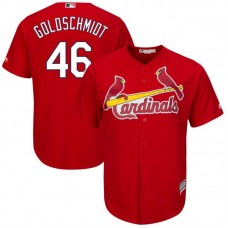 Men St. Louis Cardinals 46 Goldschmidt Red Game MLB Jersey