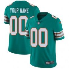 2019 NFL Men Nike Miami Dolphins Alternate Aqua Green Stitched Customized Vapor jersey