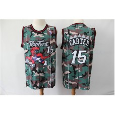 Men NBA Toronto Raptors 15 Carter 2019 new Woodland Camo Nike jersey