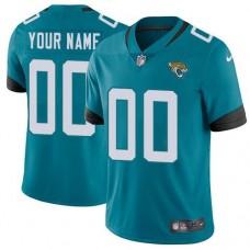 NFL Men Custom Nike Jacksonville Jaguars Teal New 2018 Vapor jersey