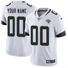 NFL Men Custom Nike Jacksonville Jaguars White New 2018 Vapor jersey