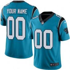 Nike Carolina Panthers Blue Men Customized Vapor Untouchable Player Limited Jersey