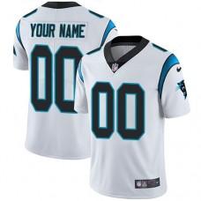 Nike Carolina Panthers White Men Customized Vapor Untouchable Player Limited Jersey
