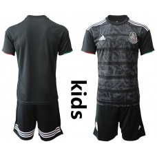 Youth 2019-2020 Season National Team Mexico home black Soccer Jerseys