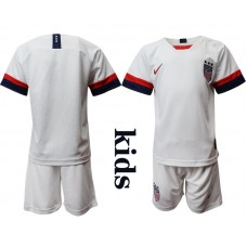 Youth 2019-2020 Season National Team United States home white Soccer Jerseys