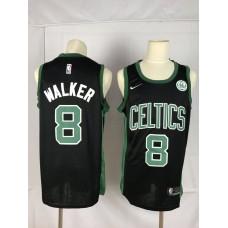 Men Boston Celtics 8 Walker black Game Nike NBA Jerseys