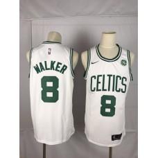 Men Boston Celtics 8 Walker white Game Nike NBA Jerseys