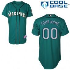 MLB Customize Seattle Mariners Green Jerseys