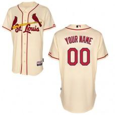 MLB Customize St.Louis Cardinals Cream Jerseys