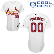 MLB Customize St.Louis Cardinals White  Jerseys