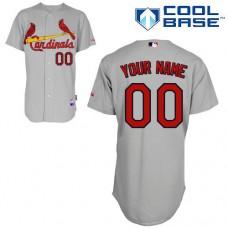 MLB Customize St.Louis Cardinals grey Jerseys
