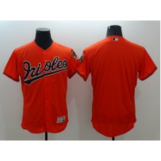 2016 MLB FLEXBASE Baltimore Orioles Blank Orange Jersey