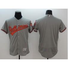 2016 MLB FLEXBASE Chicago Baltimore Orioles blank grey jerseys