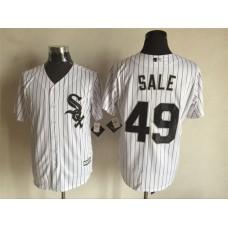 2016 MLB FLEXBASE Chicago White Sox 49 Sale white jerseys