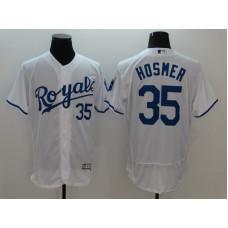 2016 MLB FLEXBASE Kansas City Royals 35 Hosmer White Jersey