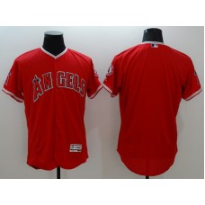 2016 MLB FLEXBASE Los Angeles Angels blank red jerseys