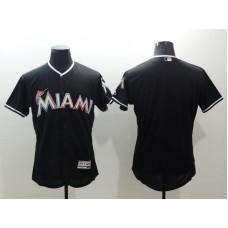 2016 MLB FLEXBASE Miami Marlins blank blue jerseys