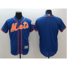 2016 MLB FLEXBASE New York Mets Blank Blue Jersey