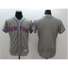 2016 MLB FLEXBASE New York Mets blank grey jersey
