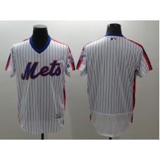 2016 MLB FLEXBASE New York Mets blank white  throwback jerseys