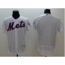 2016 MLB FLEXBASE New York Mets blank white jerseys