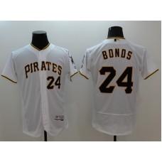 2016 MLB FLEXBASE Pittsburgh Pirates 24 Bonds white  jerseys