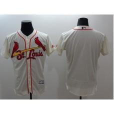 2016 MLB FLEXBASE St.Louis Cardinals blank cream jerseys