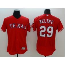 2016 MLB FLEXBASE Texas Rangers 29 Beltre red jerseys