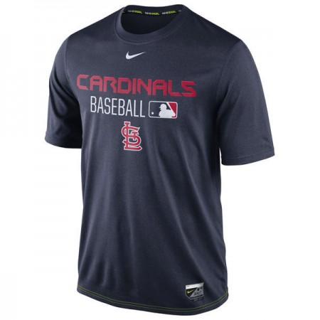 2016 MLB St. Louis Cardinals Nike Legend Team Issue Performance T-Shirt - Navy