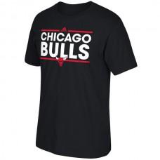 2016 NBA Chicago Bulls adidas Dassler T-Shirt - Black